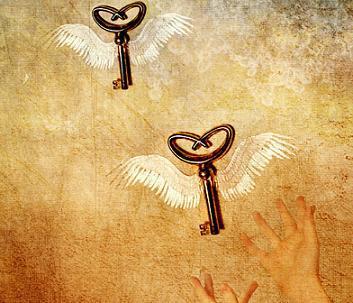 The_key_to_happiness_by_kuschelirmel